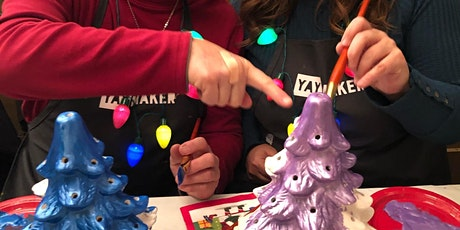Ceramic Tree Event- Choose your Holiday! Virtual Instruction tickets