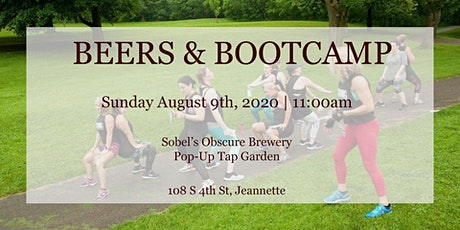 Beers & Bootcamp at the Pop-Up tickets