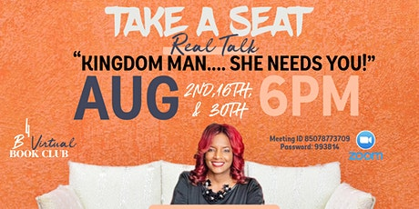 "B4 BOOK CLUB (VIRTUAL): ""KINGDOM MAN...SHE NEED'S YOU"" tickets"