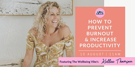 How to Prevent Burnout and Increase Productivity tickets