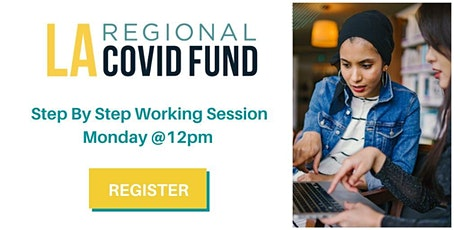 Step by Step LA COVID Fund Working Session tickets