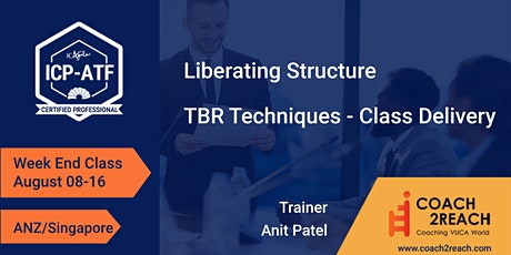 Agile Team Facilitation ICP-ATF Online (Liberating Structures)ANZ/Singapore tickets