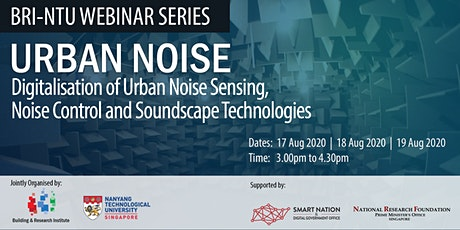 Urban Noise Webinar Series tickets