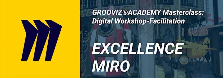 GROOVIZ® ACADEMY Masterclass: Digital Workshop-Facilitation EXCELLENCE-MIRO: Bild