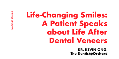 [FREE WEBINAR] Consult a Dentist for Dental Veneers tickets