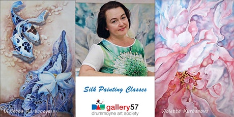 Silk Painting Classes tickets