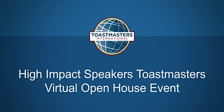 High Impact Speakers Toastmasters tickets