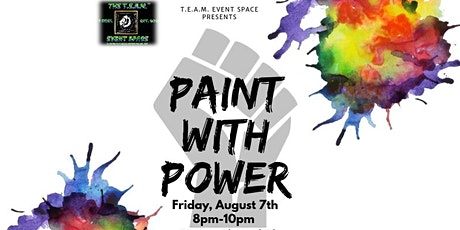 Paint with Power tickets