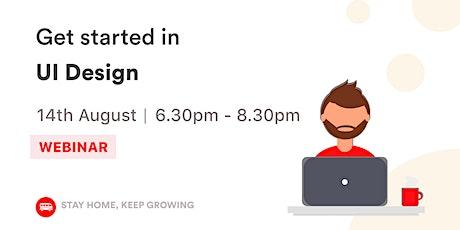 [WEBINAR] Get started in UI Design tickets