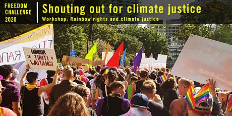 Freedom Challenge: Rainbow rights and climate justice tickets