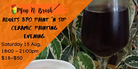 Adults Ceramic Painting evening tickets