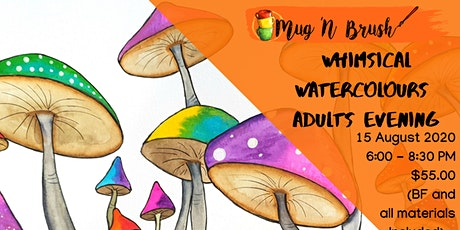 Whimsical watercolours with Jane tickets