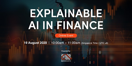 Explainable AI in Finance [Online Event] tickets