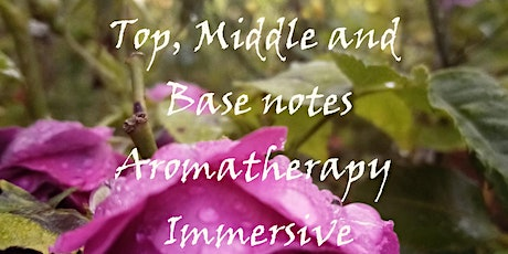 Top Middle and Base Notes: Aromatherapy Immersive tickets