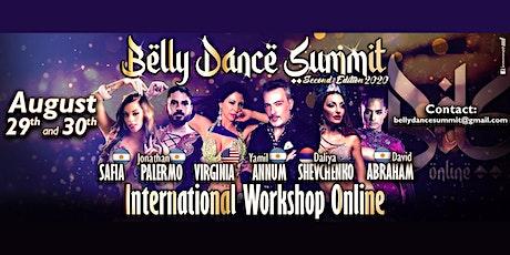 Belly Dance Summit - Online Workshop - August 29 & 30 tickets