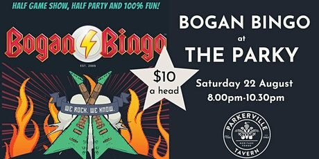 Bogan Bingo tickets