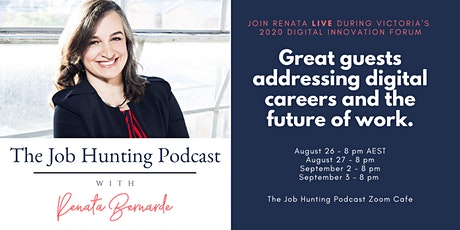 The Job Hunting Podcast Live at #DIF2020 tickets