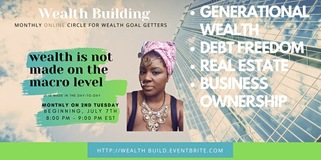 Wealth Building Circle - Learn to Budget, Save, invest with Benuuas Kenya tickets