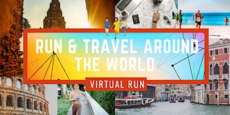 Virtual Travel & Run around the World 2020 tickets