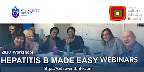 Hepatitis B Made Easy - November Online tickets