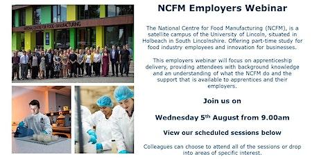 NCFM Employers Webinar tickets