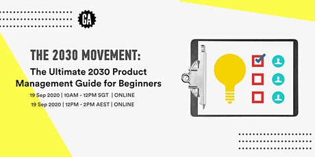 The Ultimate 2030 Product Management Guide for Beginners tickets