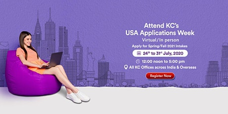 Attend USA Applications Week from 24th July to 31st July 2020 tickets