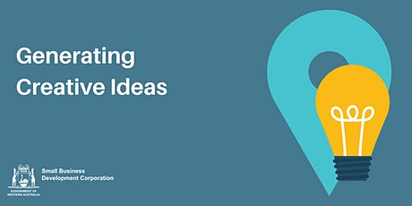 Generating Creative Ideas tickets
