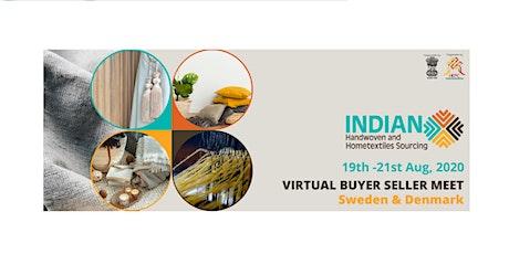 Indian Handwoven and Hometextiles Sourcing Buyer-seller meet tickets