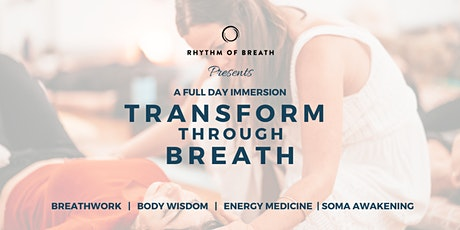 Transform through Breath - Full day immersion tickets
