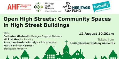 Open High Streets: Community Spaces in High Street Buildings tickets
