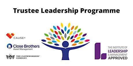 Trustee Leadership Programme Waiting List tickets