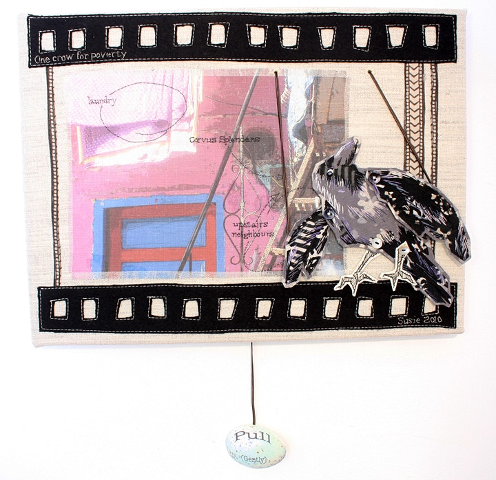Embroider a Portrait, Make a Puppet, Articulate a Story with Susie Vickery. image
