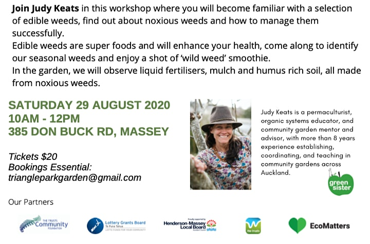'Way with Weeds' Discovery Tour with Judy Keats image