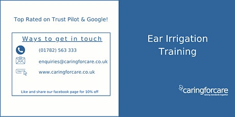 Ear Irrigation Training tickets