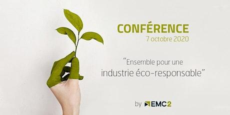 Conférence pour une industrie éco-responsable billets