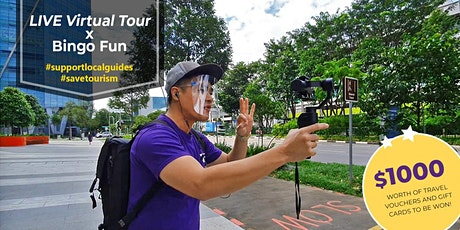 LIVE Virtual Bingo Tour - Rediscover Singapore | Explore one-north tickets