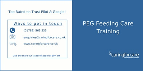 PEG Feeding Training tickets