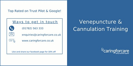 Venepuncture & Cannulation tickets