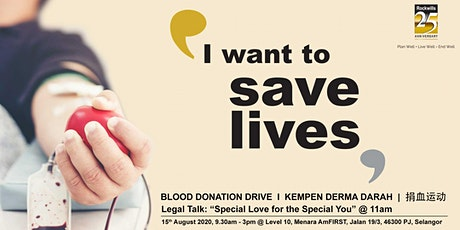 Blood Donation Drive tickets