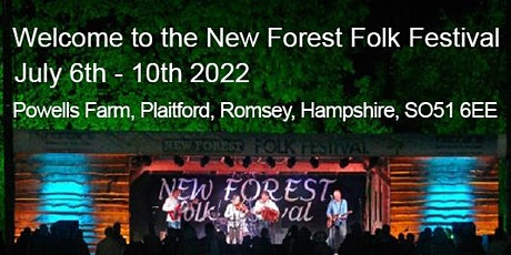 New Forest Folk Festival 6 - 10 July 2022 tickets
