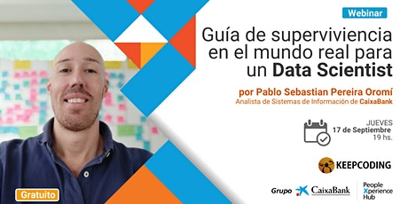 Webinar: guía de supervivencia para un Data Scientist entradas