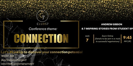 CLUBS7 #LinkUp - CONNECTION CONFERENCE 2020 (online) tickets