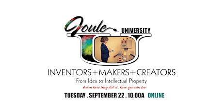 Joule U . INVENTORS + MAKERS + CREATORS Cram Day tickets