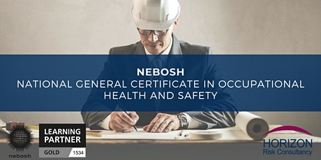 NEBOSH National General Certificate Online Course tickets