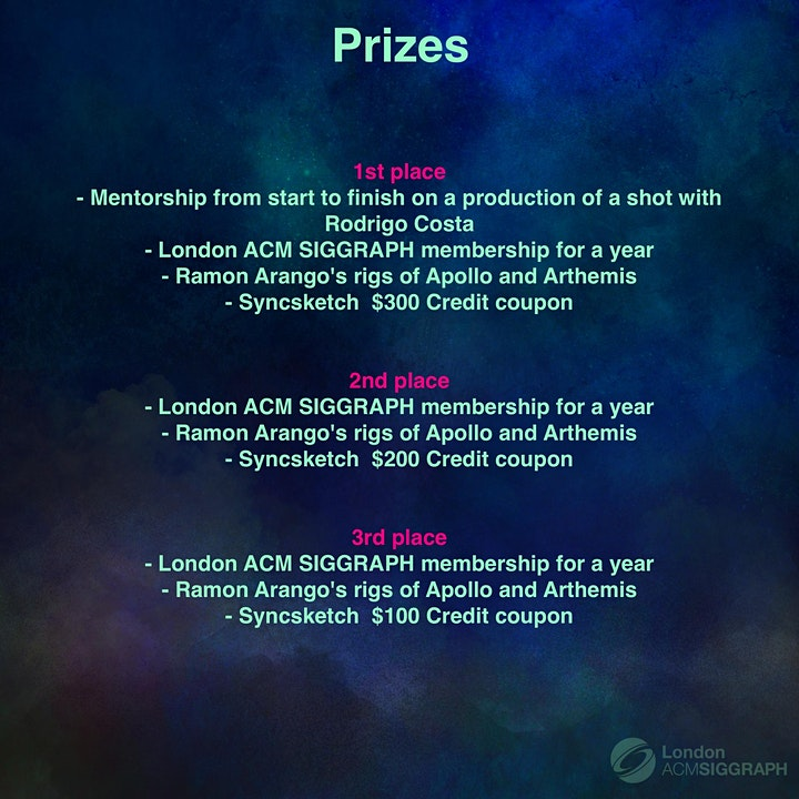 Worldwide Animation Competition– 'ESCAPE FROM EARTH' image