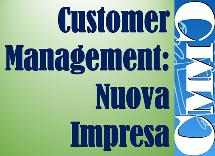 "Immagine Programma ""Customer Management: Nuova Impresa"""