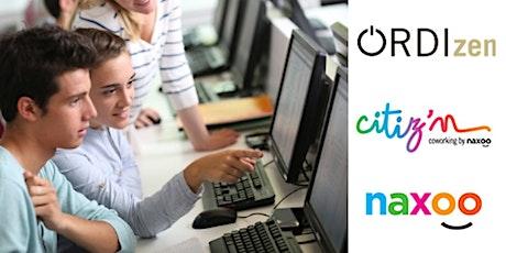 Cours découverte coding ados billets