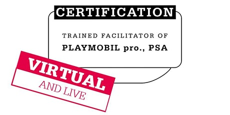 Certification for PLAYMOBIL pro. with Mathias Haas//ENGLISH tickets