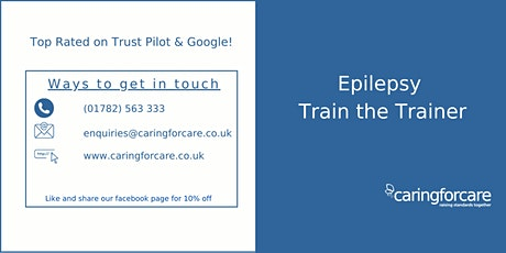 Epilepsy Medication Train the Trainer - 2 day Training tickets